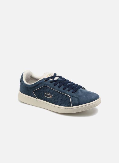 Lacoste - CARNABY EVO 118 1 - Sneaker für Damen / blau