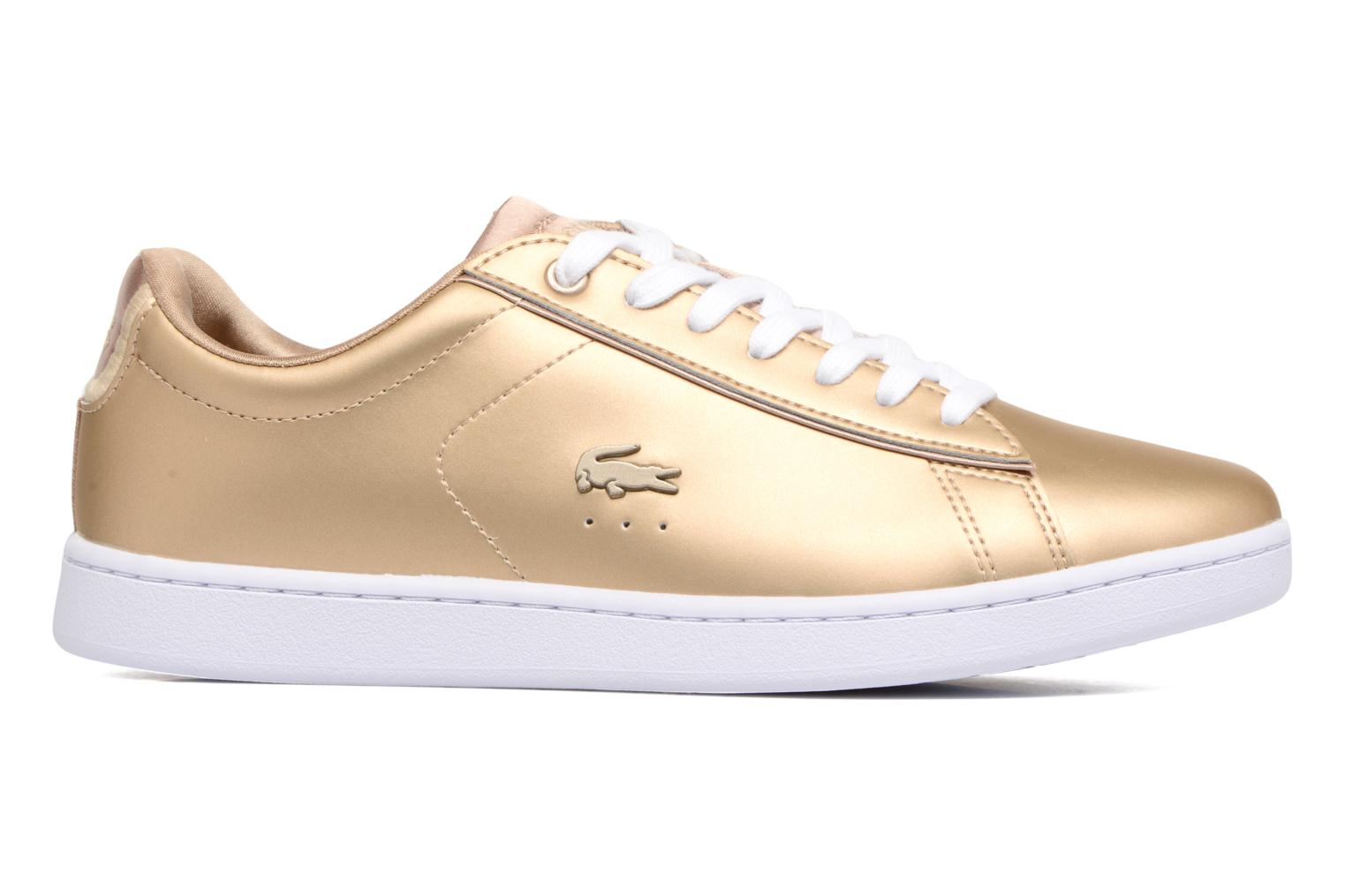 Mujer Lacoste Carnaby Evo 118 1 Deportivas Oro Y Bronce