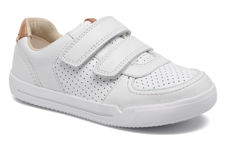 Sneakers Clarks Wit