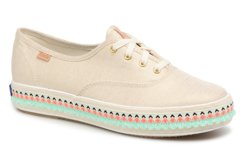 SALE -30 Keds - Triple Hula Foxing - SALE Sneaker für Damen / beige