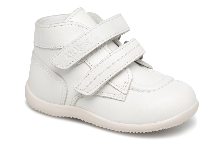 Boots en enkellaarsjes Kickers Wit