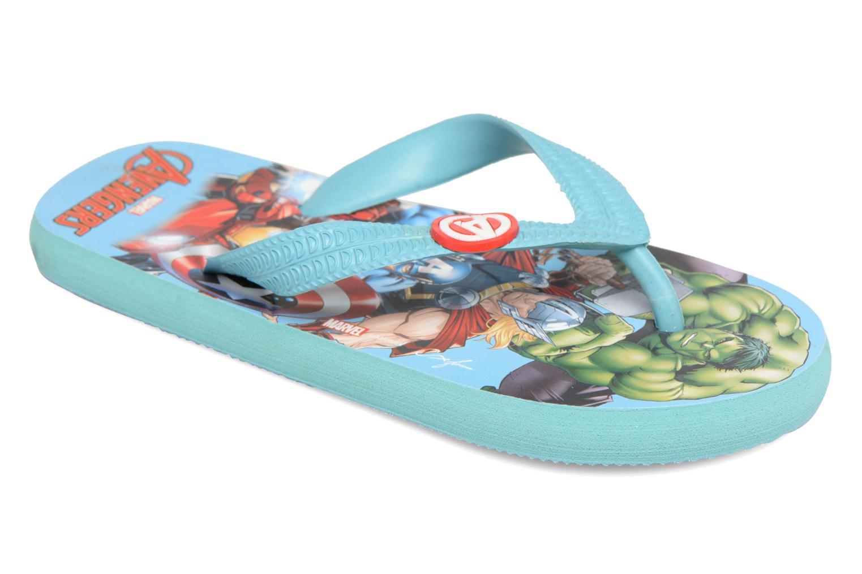 Slippers Avengers Blauw