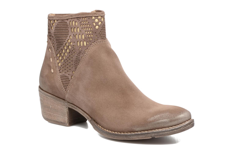 Boots en enkellaarsjes Khrio Bruin