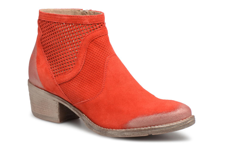 Boots en enkellaarsjes Khrio Rood