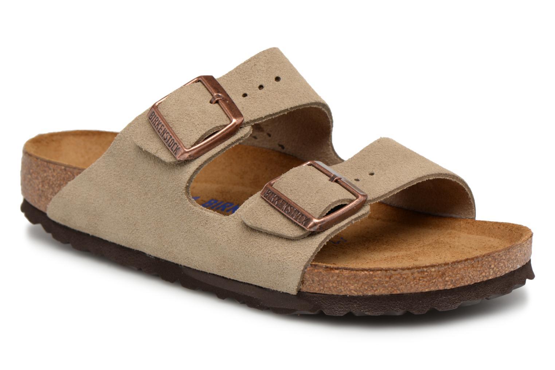 Arizona Cuir Suede Soft Footbed W par Birkenstock