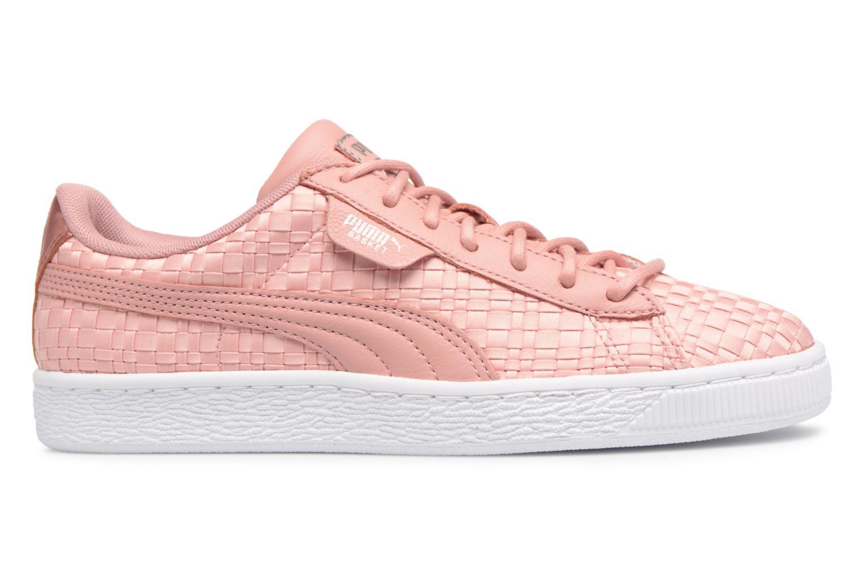 puma basket mujer rosas