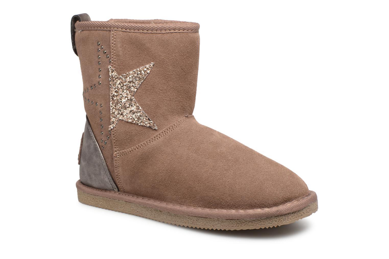 Boots en enkellaarsjes Kaporal Roze