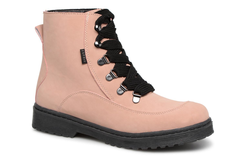 Boots en enkellaarsjes Esprit Roze