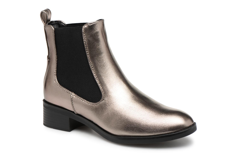 Boots en enkellaarsjes ONLY Zilver
