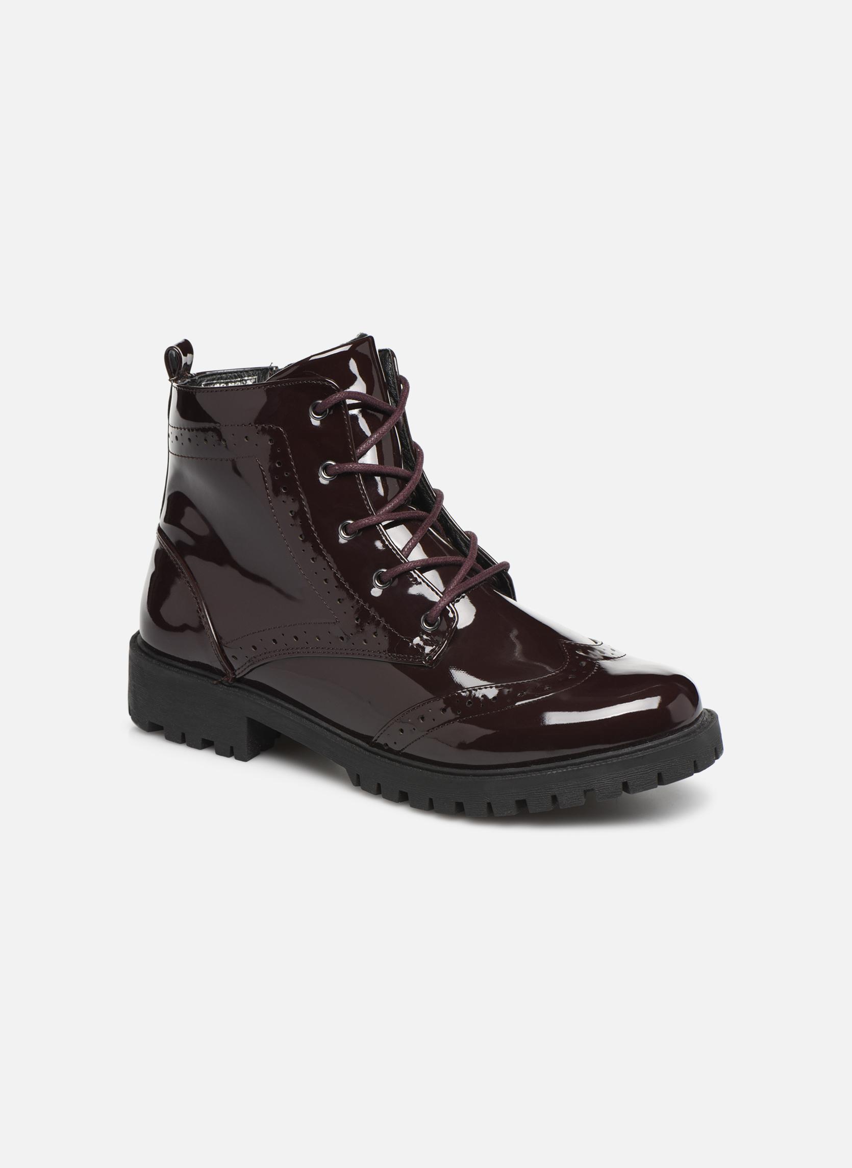 Boots en enkellaarsjes Vero Moda Bordeaux