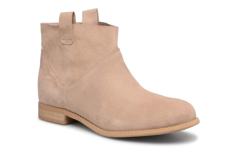 Boots en enkellaarsjes L37 Beige
