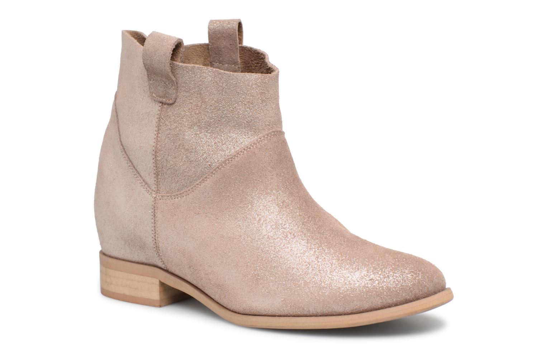 Boots en enkellaarsjes L37 Goud en brons