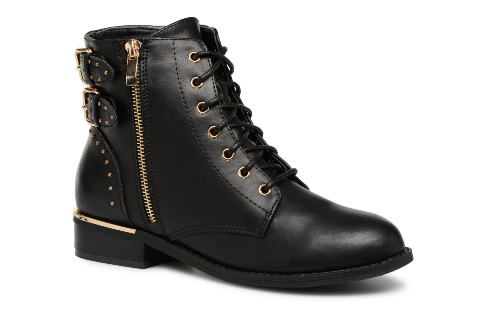 Boots en enkellaarsjes I Love Shoes Zwart