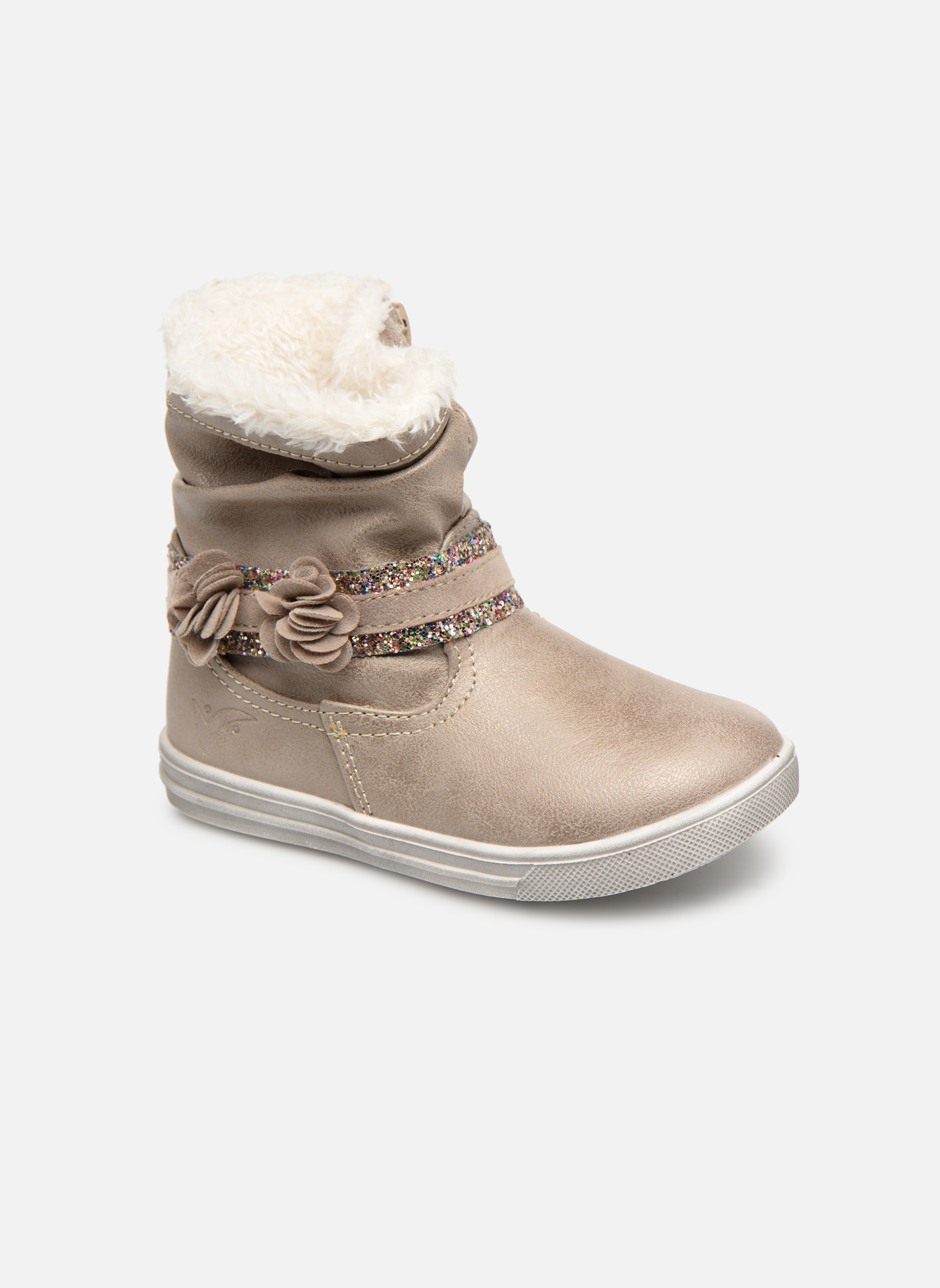 Boots en enkellaarsjes Bopy Beige