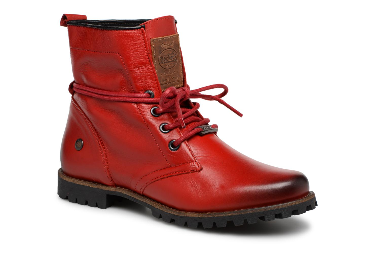 Boots en enkellaarsjes Dockers Rood