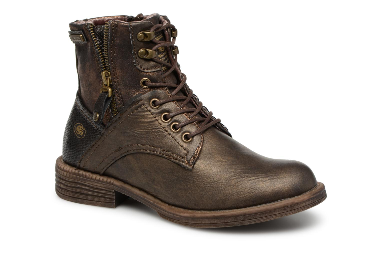 Boots en enkellaarsjes Dockers Goud en brons