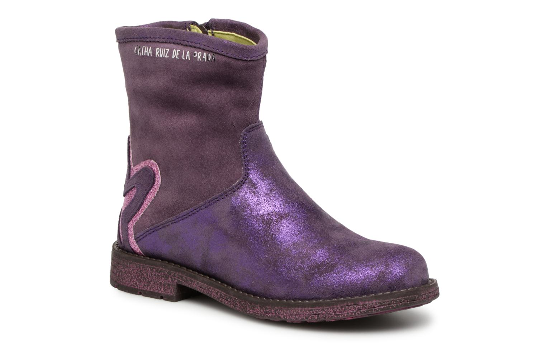 Boots en enkellaarsjes Agatha Ruiz de la Prada Paars