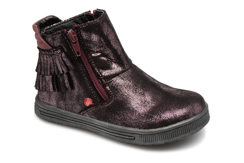 Boots en enkellaarsjes NA! Paars