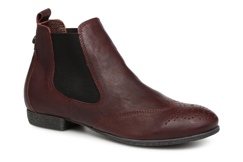 Boots en enkellaarsjes Think! Rood