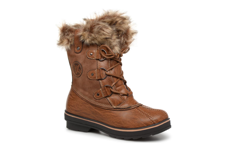 Boots en enkellaarsjes Kimberfeel Bruin