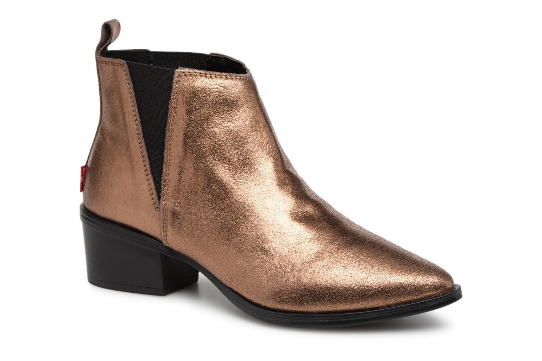 Boots en enkellaarsjes Levi's Goud en brons