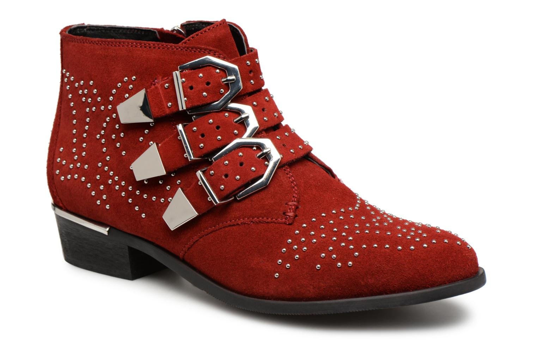 Boots en enkellaarsjes Bronx Rood