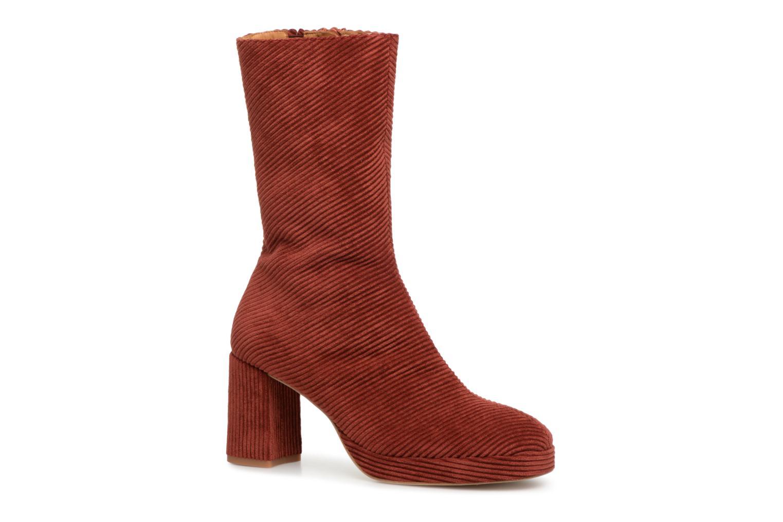 Boots en enkellaarsjes Miista Rood