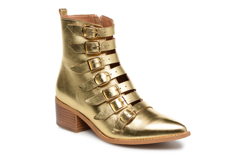 Boots en enkellaarsjes E8 by Miista Goud en brons