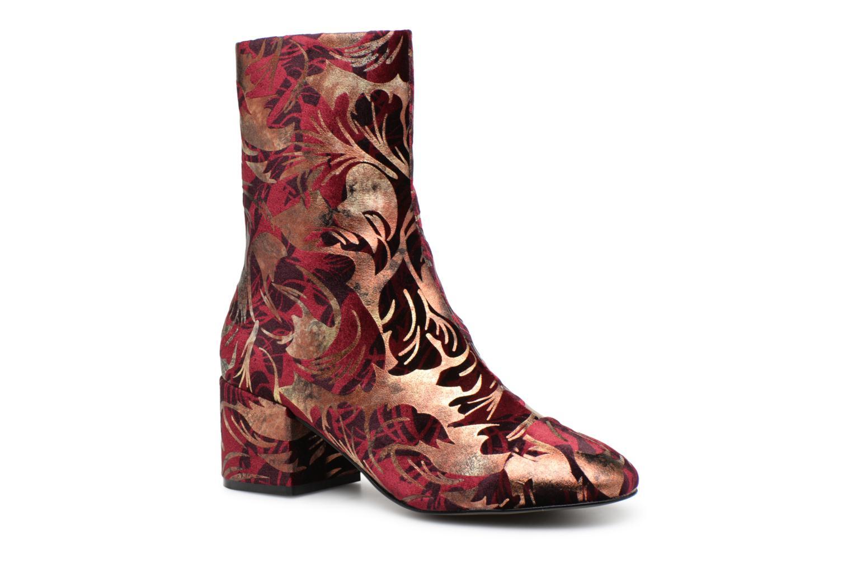 Boots en enkellaarsjes E8 by Miista Bordeaux