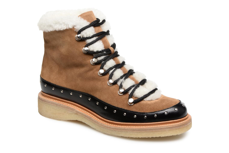 Boots en enkellaarsjes Billi Bi Bruin