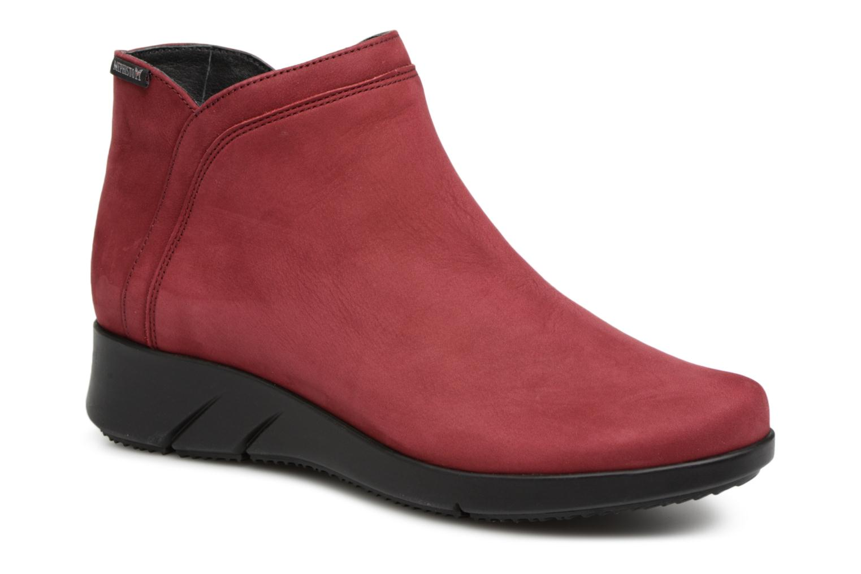 Boots en enkellaarsjes Mephisto Rood