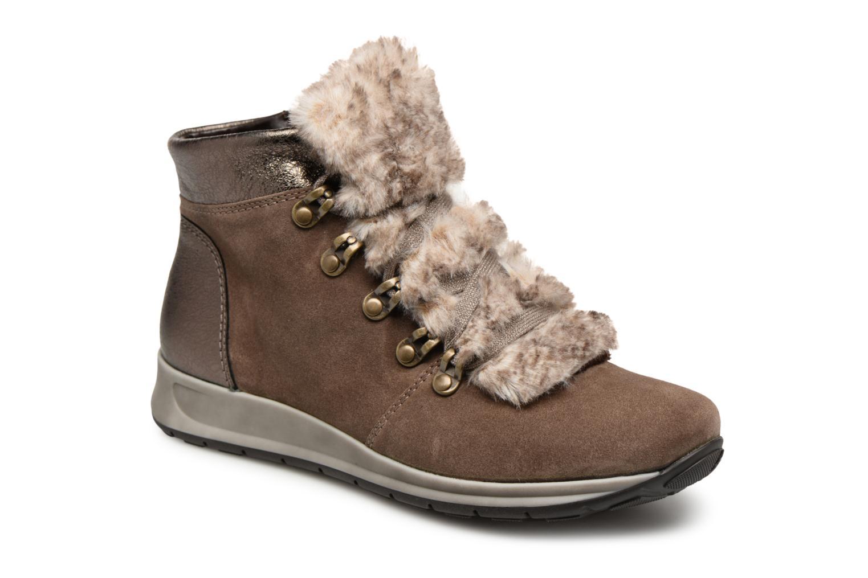 Boots en enkellaarsjes Ara Bruin