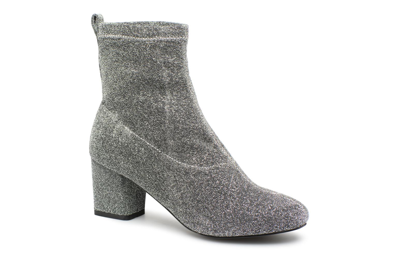 Boots en enkellaarsjes Pieces Zilver