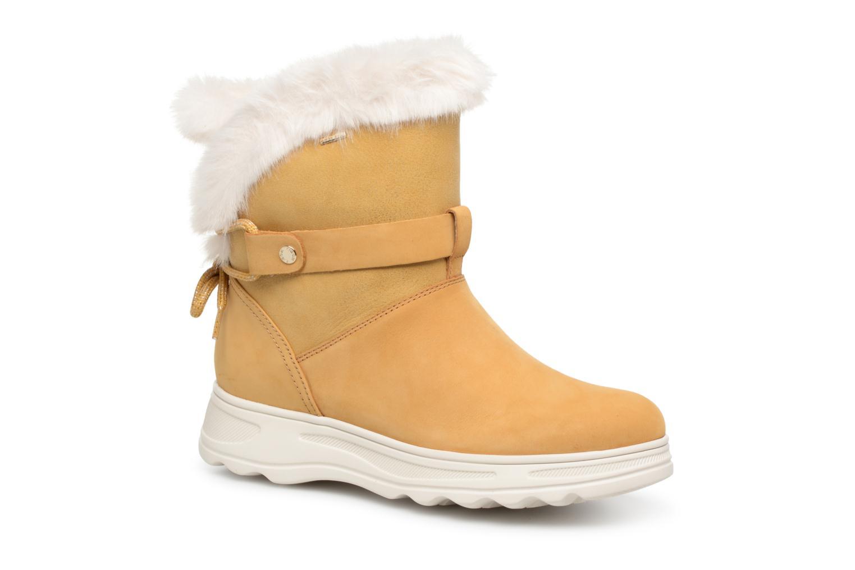Boots en enkellaarsjes Geox Geel
