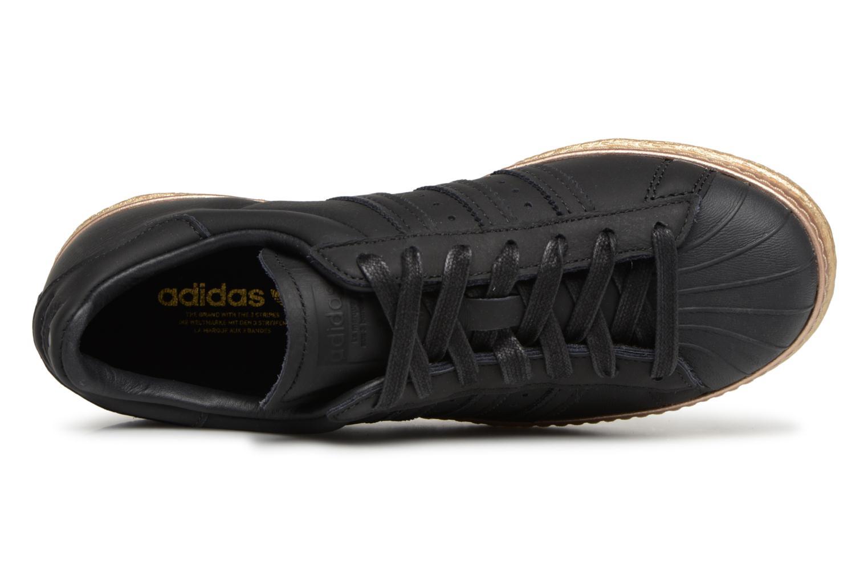 Damen Damen Damen Adidas Originals Superstar 80S New Bold W Turnschuhe Schwarz 279ae8