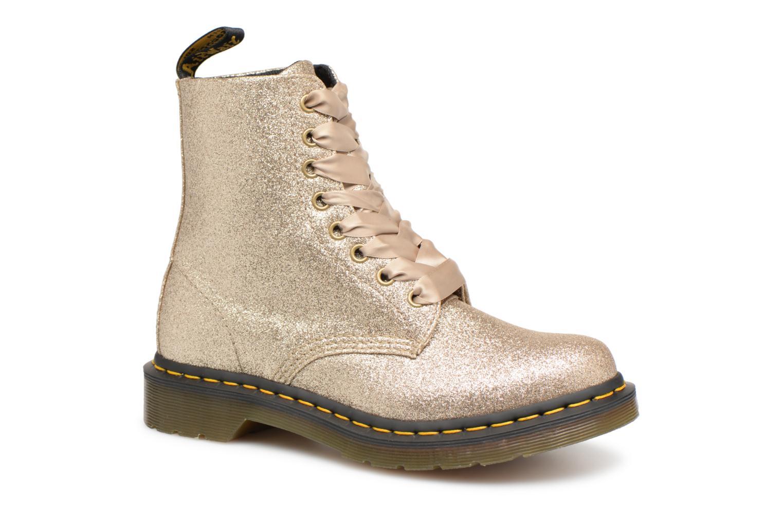 Boots en enkellaarsjes Dr. Martens Goud en brons