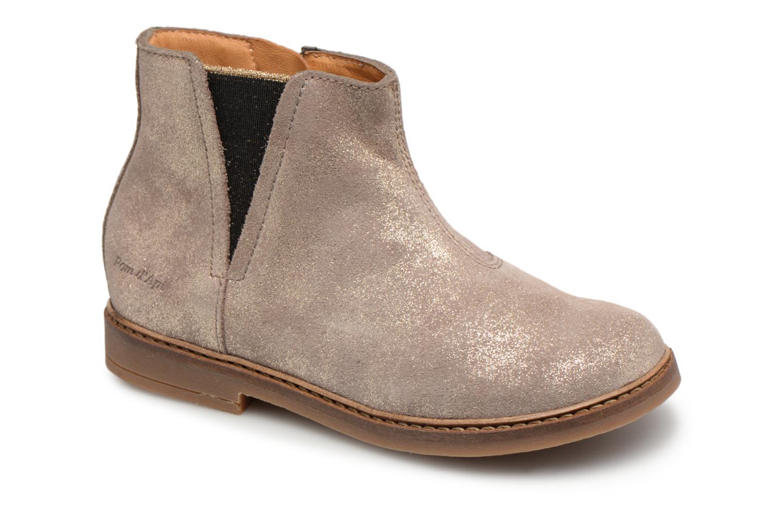 Boots en enkellaarsjes Pom d Api Beige