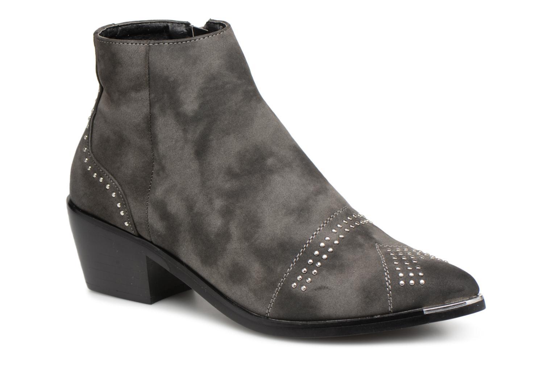 Boots en enkellaarsjes Pieces Grijs