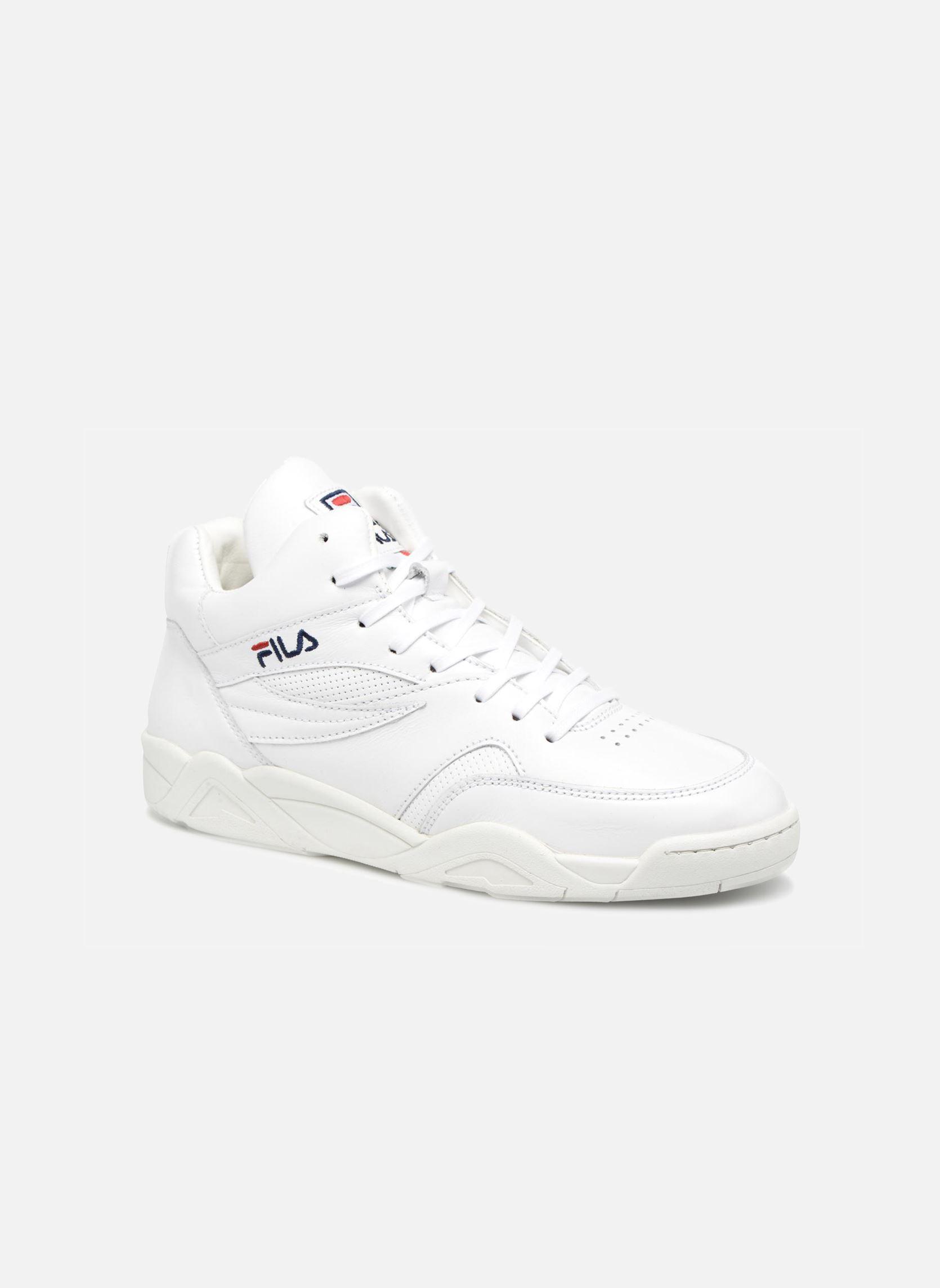 Details zu Herren Fila Pine Mid Sneaker Weiß