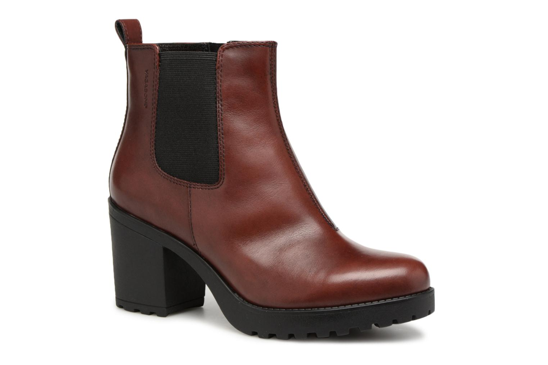 Boots en enkellaarsjes Vagabond Bordeaux