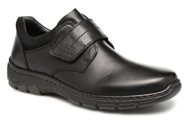 Schoenen met klitteband Rieker Zwart