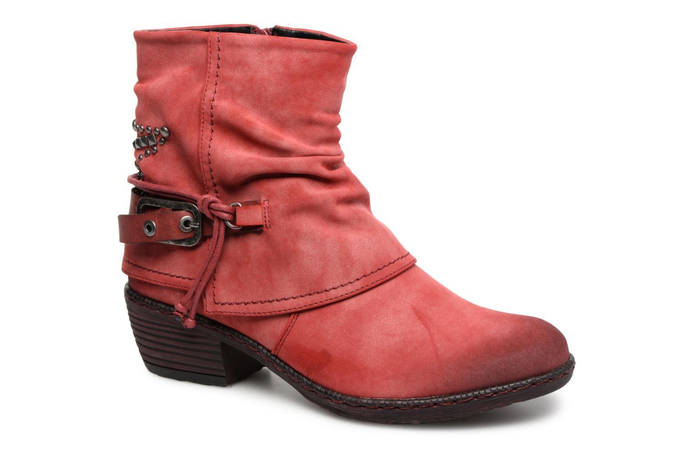 Boots en enkellaarsjes Rieker Rood
