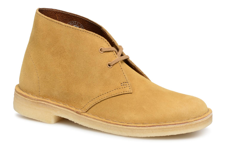 Boots en enkellaarsjes Clarks Originals Geel
