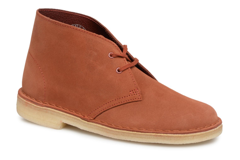 Boots en enkellaarsjes Clarks Originals Oranje