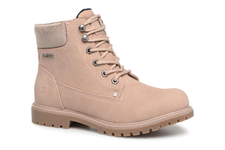 Boots en enkellaarsjes Tom Tailor Roze