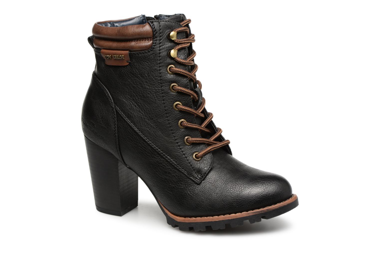 Boots en enkellaarsjes Tom Tailor Zwart