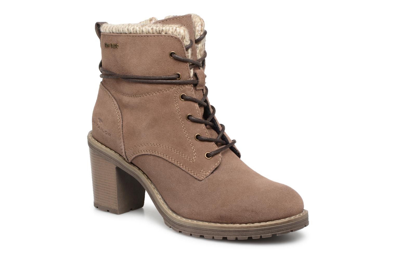 Boots en enkellaarsjes Tom Tailor Beige