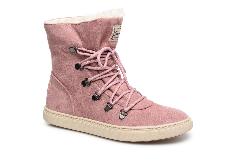 Boots en enkellaarsjes Skechers Roze