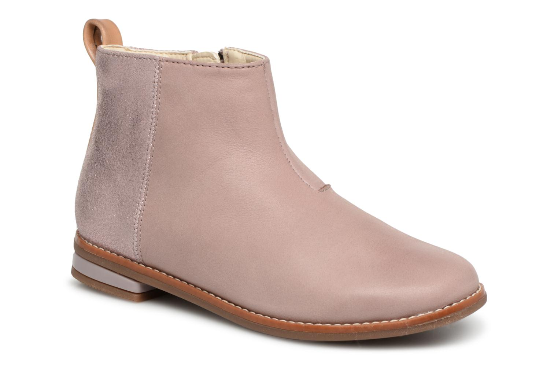 Boots en enkellaarsjes Clarks Roze