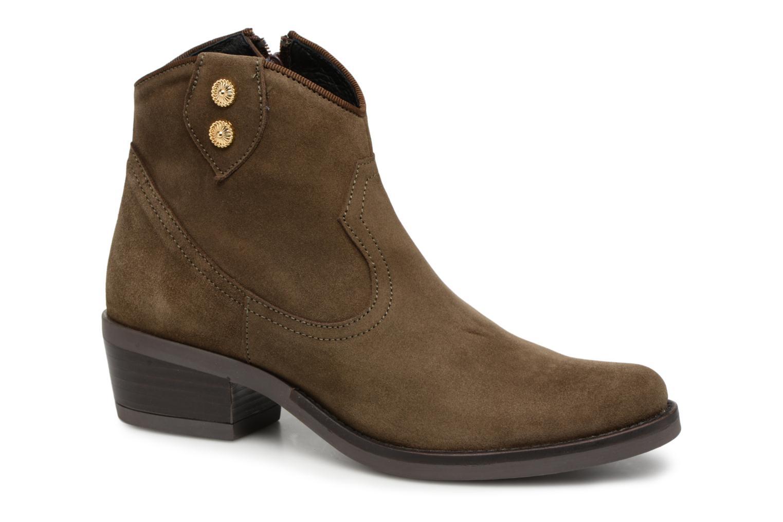 Boots en enkellaarsjes Kanna Bruin
